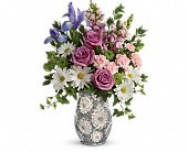 Teleflora's Spring Cheer Bouquet in Edmonton AB, Petals For Less Ltd.