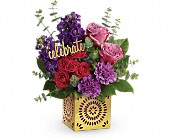Teleflora's Thrilled For You Bouquet in Moundsville WV, Peggy's Flower Shop