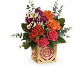 Teleflora's Birthday Sparkle Bouquet in Fredericton NB, Flowers for Canada