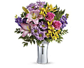 Teleflora's Bright Life Bouquet in Columbus, Indiana, Fisher's Flower Basket