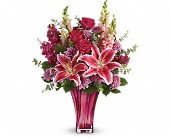 Teleflora's Bold Elegance Bouquet in Ruston LA, 2 Crazy Girls