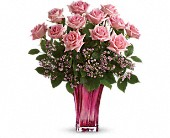 Teleflora's Glorious You Bouquet in Ormond Beach FL, Simply Roses