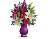 Teleflora's Sparkle And Shine Bouquet in Harlan KY, Coming Up Roses