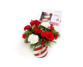 Holiday Wishes - Candy Cane Jar in New Glasgow NS, McKean's Flowers Ltd.