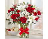 Holiday Charm in Largo FL, Rose Garden Florist