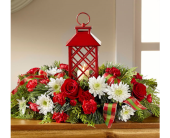 The FTD� Celebrate the Season� Centerpiece in El Paso TX, Executive Flowers