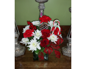 Candy Cane Dreams   in Raleigh NC, Gingerbread House Florist - Raleigh NC