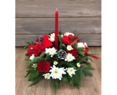 Classic Christmas Centerpiece in Smyrna GA, Floral Creations Florist