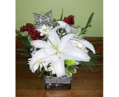 Star is Bright in Raleigh NC, Gingerbread House Florist - Raleigh NC