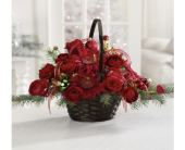 Seasonal Garden Basket in Kelowna BC, Burnetts Florist & Gifts