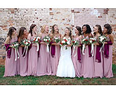 Wedding Party in Cary, North Carolina, Every Bloomin Thing Weddings & Events Inc