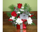 Holiday Present in Raleigh NC, Gingerbread House Florist - Raleigh NC