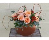 Copper & Peach in Redmond WA, Bear Creek Florist