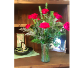 Dozen Red Roses in Boise ID, Hillcrest Floral
