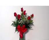 6 RED ROSES in Sanford NC, Ted's Flower Basket