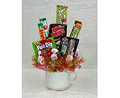 Candy Bouquet in Ruston LA, 2 Crazy Girls