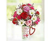 Mugable for Love Birds in Mount Morris MI, June's Floral Company & Fruit Bouquets