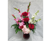 Valentine Romance in Raleigh NC, Gingerbread House Florist - Raleigh NC