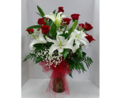 My Sweet Valentine in Raleigh NC, Gingerbread House Florist - Raleigh NC