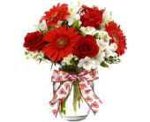 VF140  Dazzling Devotion Arranged with Love in Oklahoma City OK, Array of Flowers & Gifts