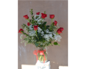 Valentine Roses in Santa  Fe NM, Rodeo Plaza Flowers & Gifts
