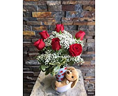 Send a hug I ruff you in Staten Island NY, Eltingville Florist Inc.