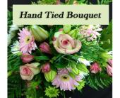 Hand Tied Bouquet, Designers Choice in Kelowna, British Columbia, Burnetts Florist & Gifts