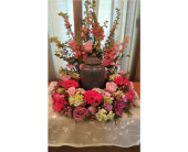 Memorial Wreath for Urn in Independence KY, Cathy's Florals & Gifts