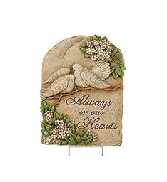 Always in our hearts Plaque in Port Charlotte, Florida, Punta Gorda Florist Inc.