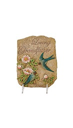 Loving Grandfather Plaque w/ stand in Port Charlotte, Florida, Punta Gorda Florist Inc.