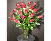 18 Red Roses in Houston TX, Clear Lake Flowers & Gifts
