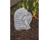 Forever With Angel Memorial Stone in Greenwood IN, The Flower Market