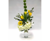 Yellow and White Delight in Belleville ON, Live, Love and Laugh Flowers, Antiques and Gifts
