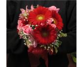 Gerbera Daisy Prom Bouquet in Royersford PA, Three Peas In A Pod Florist