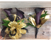 Eggplant & Gold Set in Smyrna GA, Floral Creations Florist