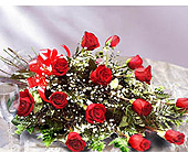 18 Red Roses in Markham ON, Freshland Flowers