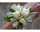Classy Rose Corsage in Muskegon MI, Wasserman's Flower Shop