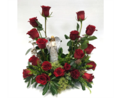 Urn Arrangement in Belleville ON, Live, Love and Laugh Flowers, Antiques and Gifts
