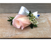 Royal Blush Boutonniere in Smyrna GA, Floral Creations Florist