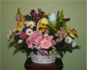 Easter Basket Arrangement in Erie PA, Allburn Florist