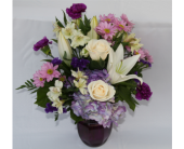Perfectly Purple in Zeeland MI, Don's Flowers & Gifts