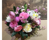 Blush Kiss Bouquet in Bellevue WA, CITY FLOWERS, INC.