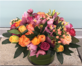 City Flowers Signature Look Bouquet in Bellevue WA, CITY FLOWERS, INC.