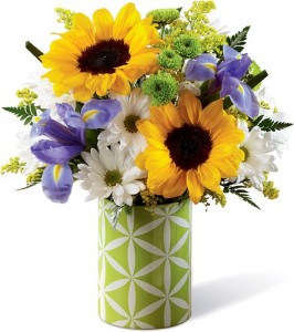 Sunflower Sweetness Bouquet in Johnstown PA, Schrader's Florist & Greenhouse, Inc
