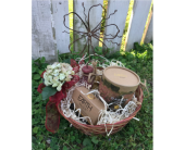 Earth Luxe Flower Gift Basket in Metropolis IL, Creations The Florist