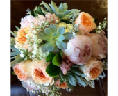 Succulent Wedding Bouquet in Ammon ID, Petal Passion