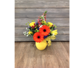 Oranges & Lemonade Pitcher in Smyrna GA, Floral Creations Florist