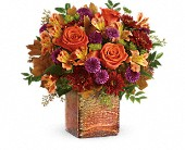 Teleflora's Golden Amber Bouquet in Madison WI, Metcalfe's Floral Studio