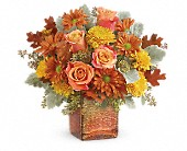 Teleflora's Grateful Golden Bouquet in Johnstown NY, Studio Herbage Florist