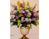 Lavender & Lime Urn in Alvarado, Texas, Darrell Whitsel Florist & Greenhouse